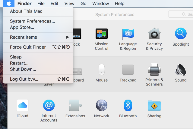 Setting up L2TP VPN on Mac OS X, step 1