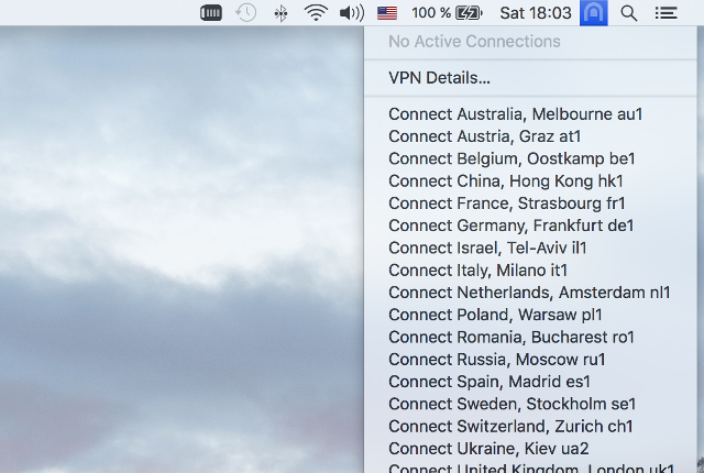 Setting up OpenVPN on Mac OS X, step 8