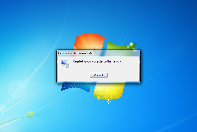 Setting up PPTP VPN on Windows 7, step 13