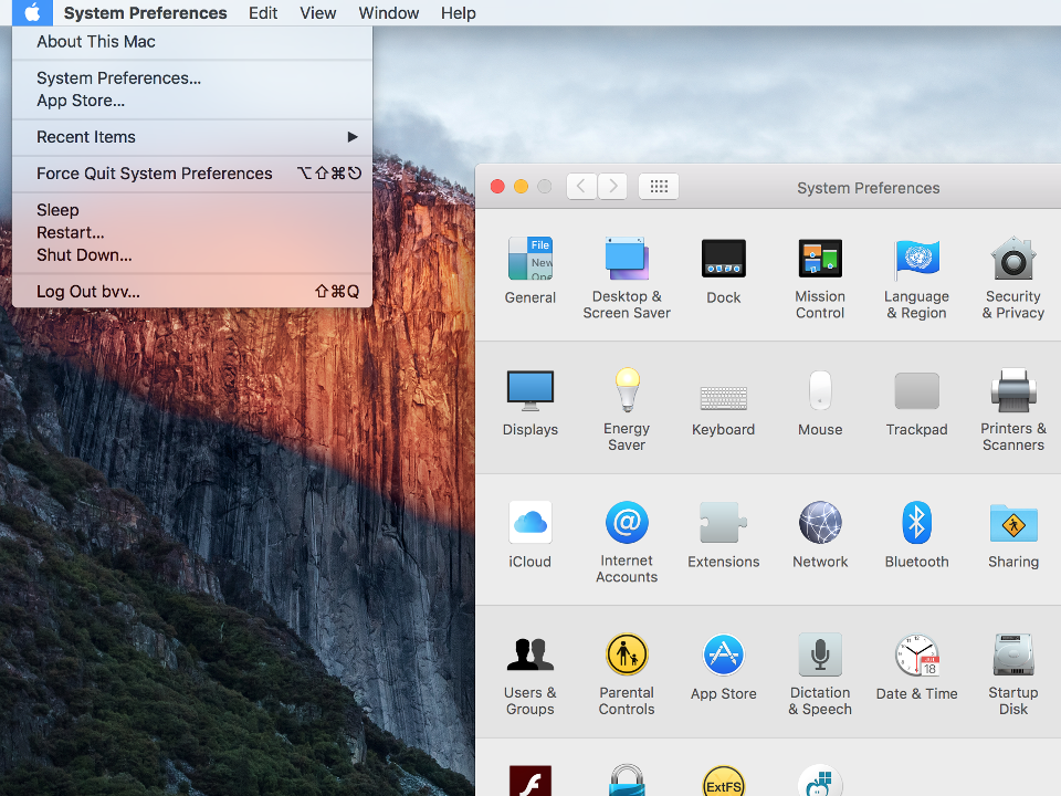 Setting up PPTP VPN on Mac OS X, step 1