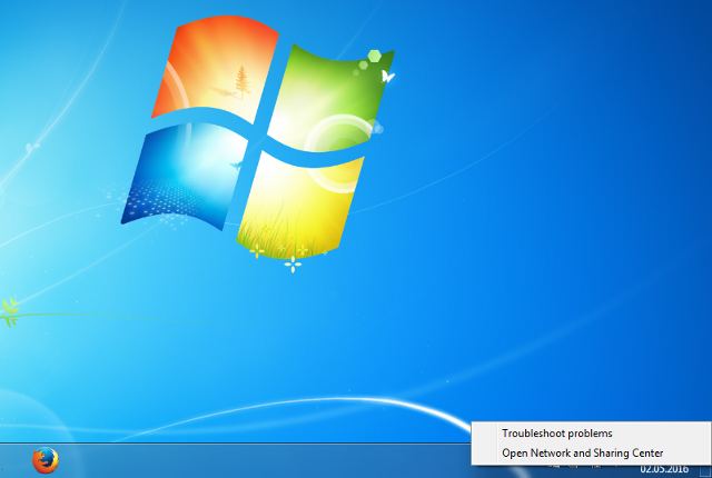 Setting up L2TP VPN on Windows 7, step 1